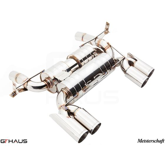 GTHAUS HP Touring Exhaust (Includes SUS SR Pipes)-