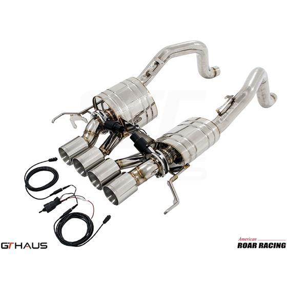GTHAUS GTC Exhaust (EV Control)- Stainless- CV02-3