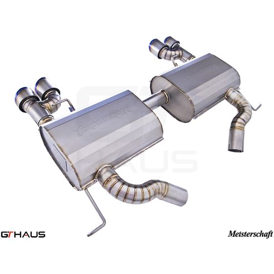 GTHAUS GT Racing Exhaust- Titanium- BM0422204-3