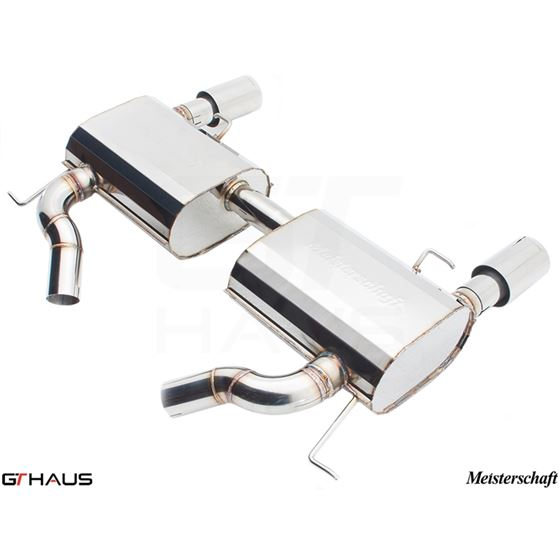 GTHAUS GT Racing Exhaust- Stainless- BM0421202-3