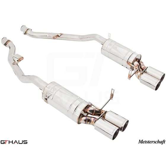 GTHAUS HP Touring Exhaust- Stainless- BM1911104