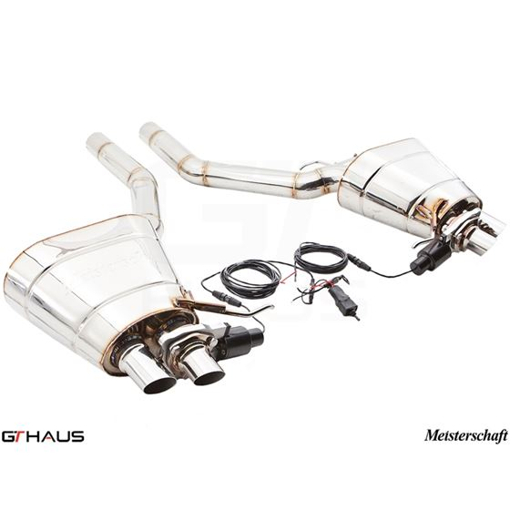 GTHAUS GTC Exhaust (EV Control)- Stainless- BM1811