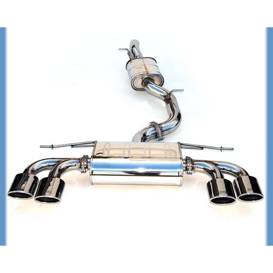 Invidia 14+ VW Golf-R Q300 w/ Oval Stainless Steel