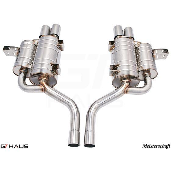 GTHAUS GT Racing Exhaust- Stainless- BM0811204