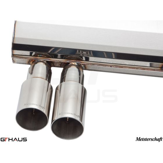 GTHAUS GT Racing Exhaust- Titanium- BM0362201-3