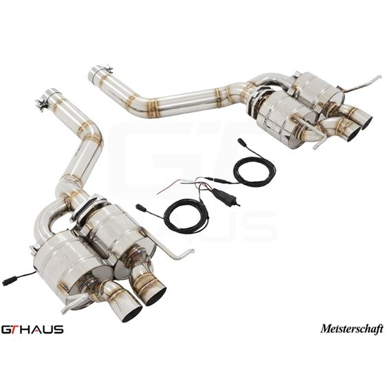 GTHAUS GTC Exhaust (EV Control)- Stainless- BE0211