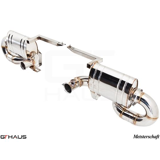 GTHAUS Super GT Racing Exhaust- Titanium- LA012240