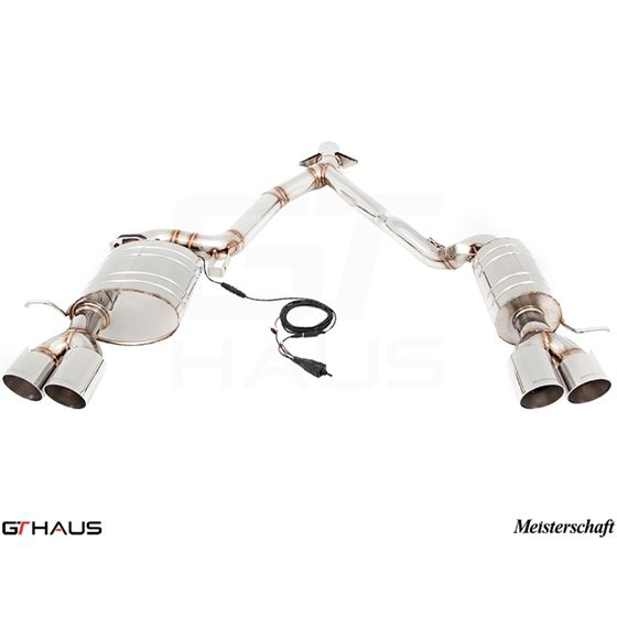 GTHAUS GTC Exhaust (EV Control)- Stainless- BM21-3