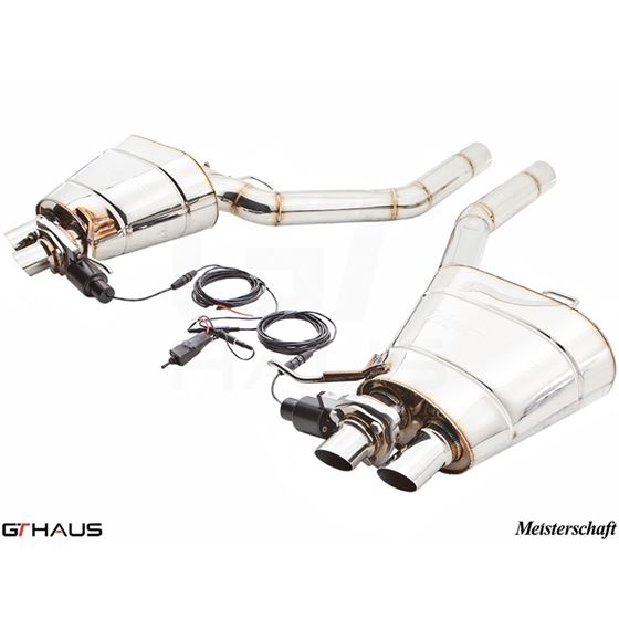 GTHAUS GTC Exhaust (EV Control)- Stainless- BM18-3