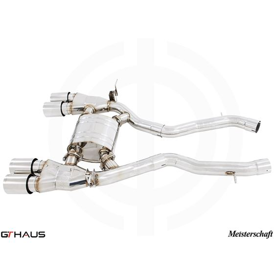 GTHAUS GT Racing Exhaust- Stainless- BM3211205-3