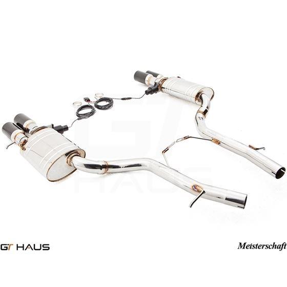 GTHAUS GTC Exhaust (EV Control)- Stainless- AU01-3