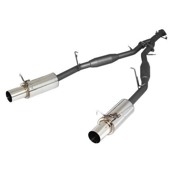 APEXi® 163-KZ02 - N1 Mild Steel Cat-Back Exha