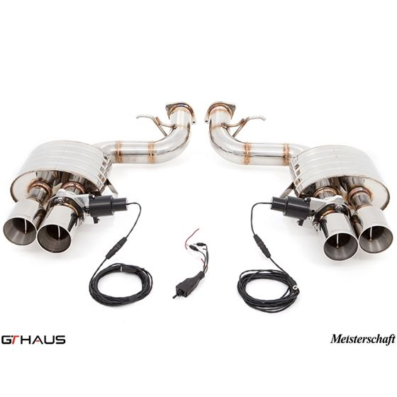 GTHAUS GTC Exhaust (EV Control)- Stainless- FE02-3