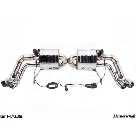 GTHAUS GTC Exhaust (EV Control)- Stainless- AU04-3