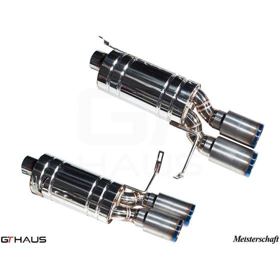 GTHAUS GT Racing Exhaust- Titanium- BM1912204