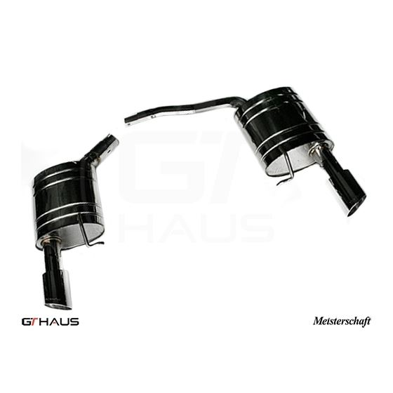 GTHAUS GT Racing Exhaust- Stainless- AU0811202