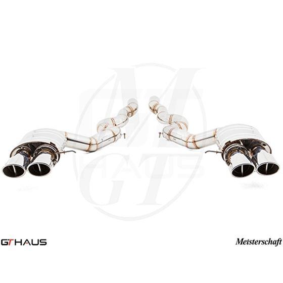 GTHAUS Super Light GT Racing Exhaust- Stainless-3