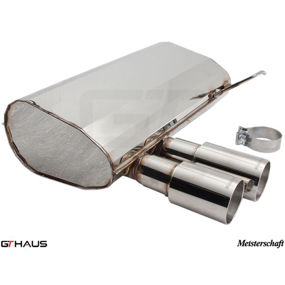 GTHAUS HP Touring Exhaust- Stainless- BM0351101