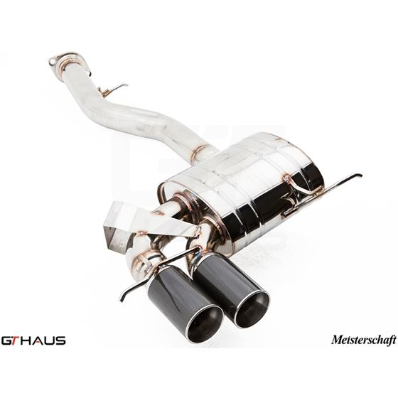 GTHAUS GT Racing Exhaust- Stainless- BM0111201