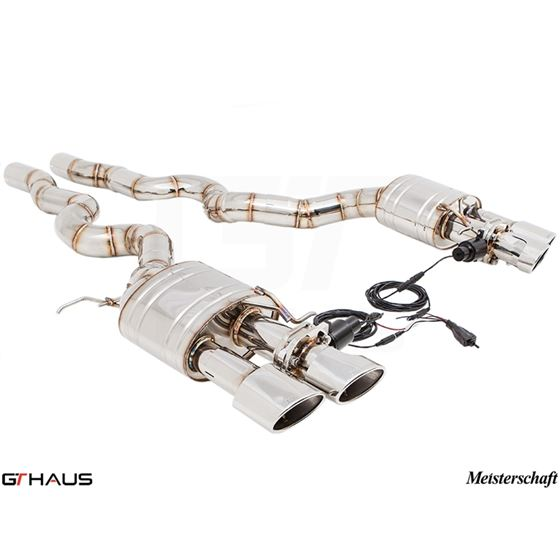 GTHAUS GTC Exhaust (EV Control)- Stainless- BM1211