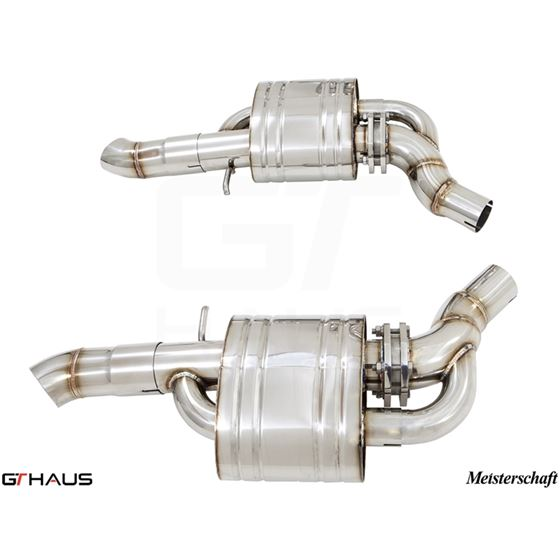 GTHAUS GTS Exhaust Ultimate Racing- Stainless- A-3
