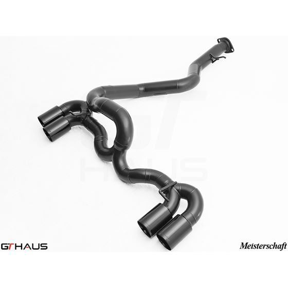 GTHAUS Super Light GT Racing Exhaust- Titanium- BM