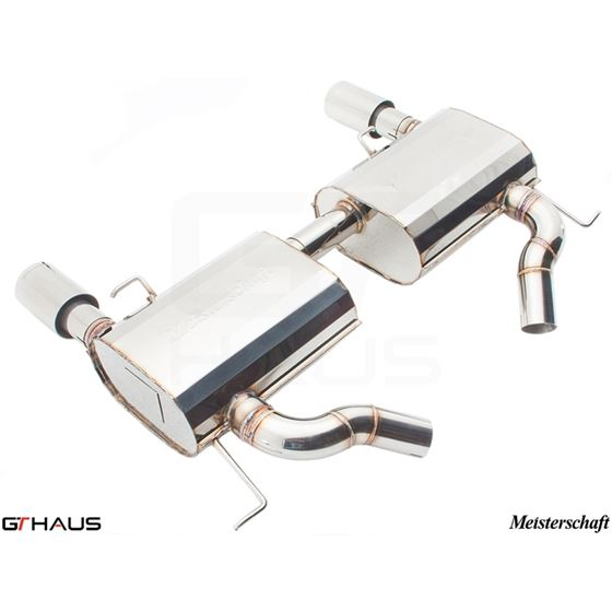 GTHAUS GT Racing Exhaust- Stainless- BM0411203