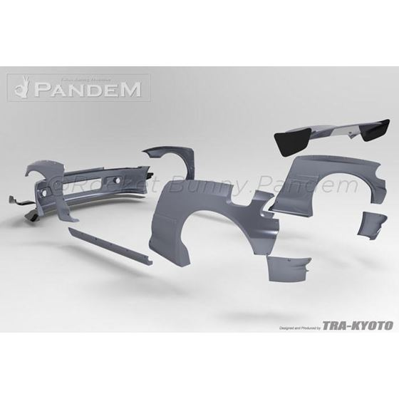 PANDEM CIVIC EG FRONT BUMPER (17050111)-3