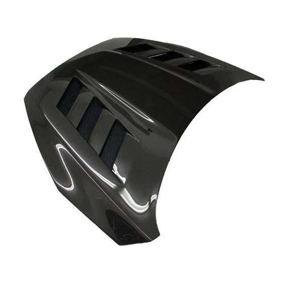 VIS Racing AMS Style Black Carbon Fiber Hood