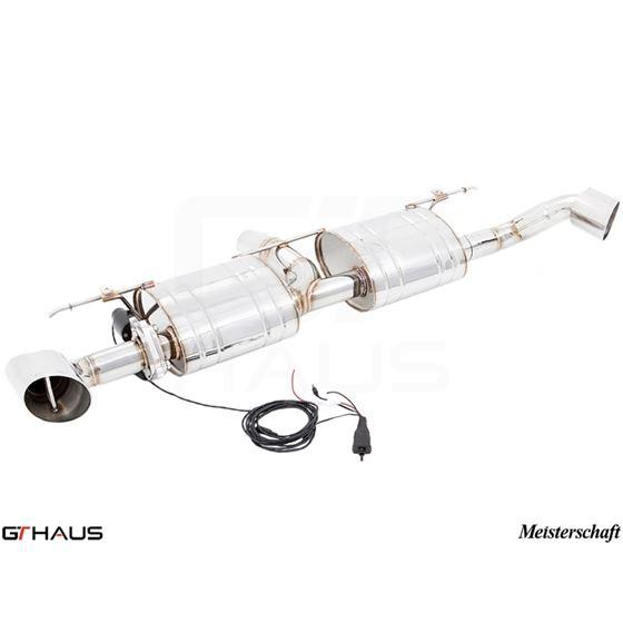 GTHAUS GTC Exhaust (EV Control)- Stainless- BM2321