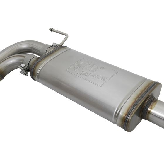 aFe Rebel Series 3 IN Cat-Back Exhaust System w/-3