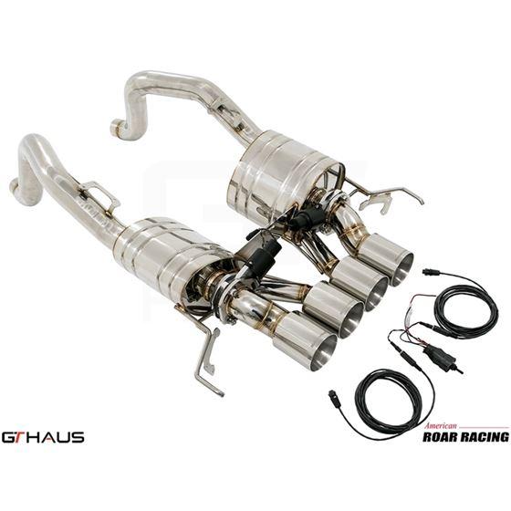 GTHAUS GTC Exhaust (EV Control)- Stainless- CV0211