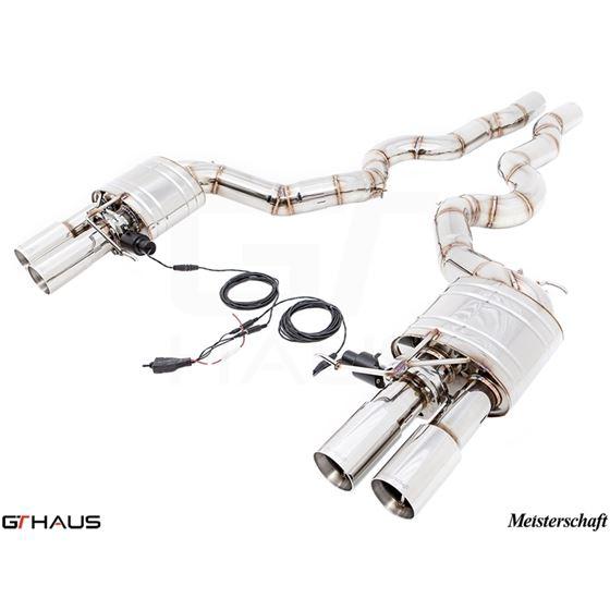 GTHAUS GTC Exhaust (EV Control) (Ti Rear unit + SU