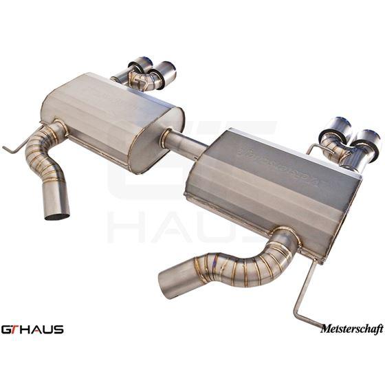 GTHAUS GT Racing Exhaust- Titanium- BM0412204-3