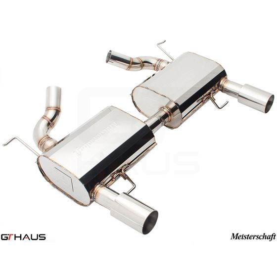 GTHAUS HP Touring Exhaust- Stainless- BM0411103