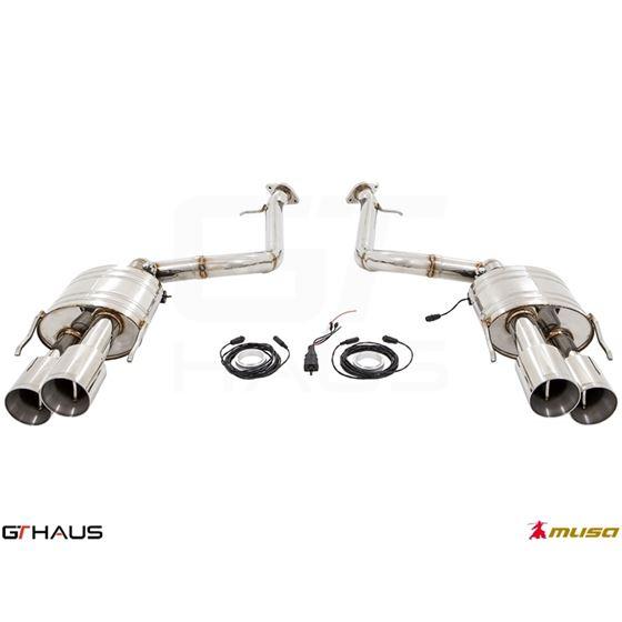 GTHAUS GTC Exhaust (EV Control)- Titanium- LE032-3