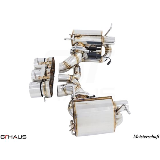 GTHAUS GTC Exhaust EV Control- Stainless- FE0311-3