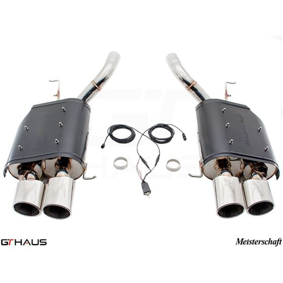 GTHAUS GTC Exhaust (EV Control) AL Shield Includ-3
