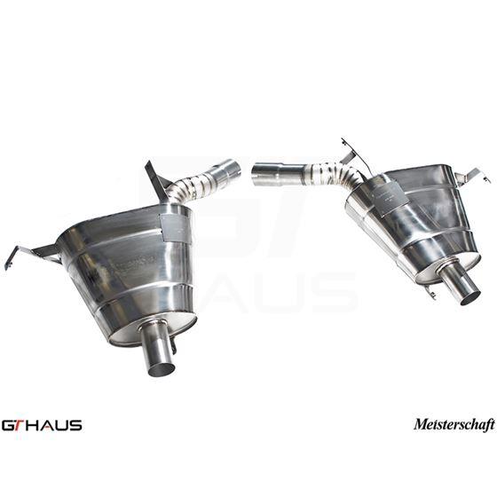 GTHAUS GT Racing Exhaust- Titanium- BM2212200