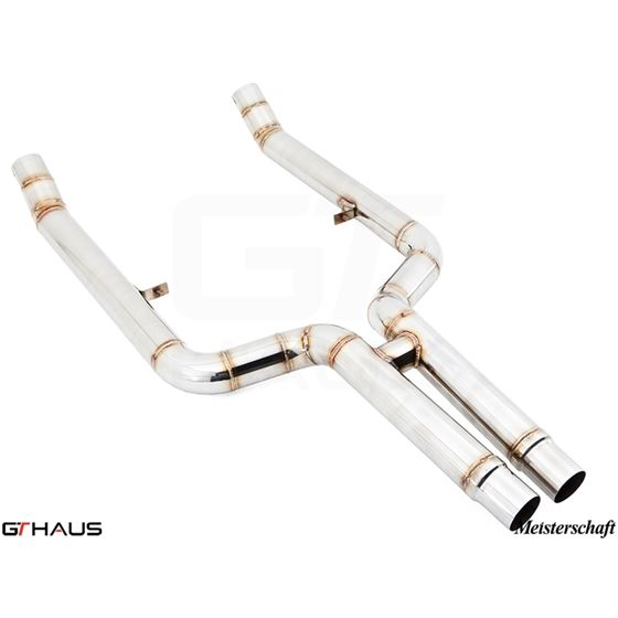 GTHAUS Bolt-on Front pipe (avoid cutting) 650i onl