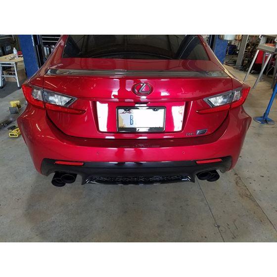 PPE Engineering Lexus RCF/GSF True Dual Exhaust -
