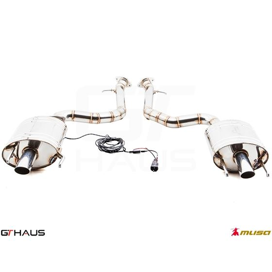 GTHAUS GTC Exhaust (EV Control)- Stainless- LE03-3
