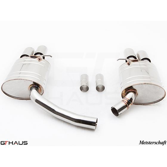 GTHAUS GT Racing Exhaust- Stainless- AU0821204-3