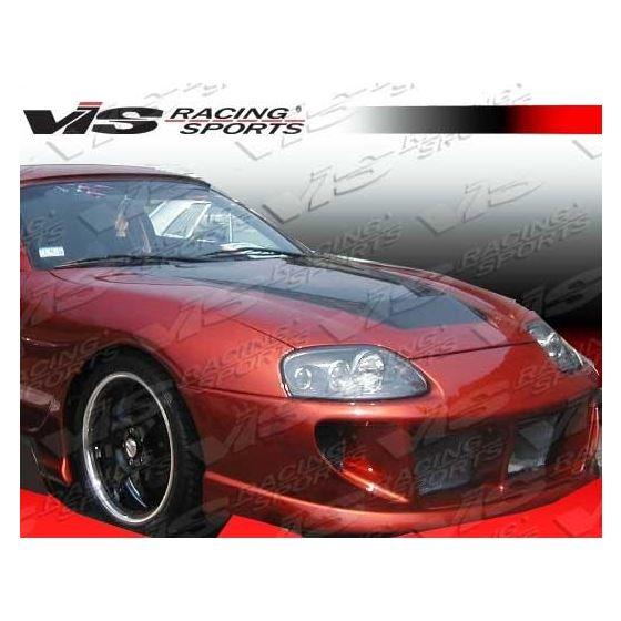 VIS Racing Invader Style Black Carbon Fiber Hood