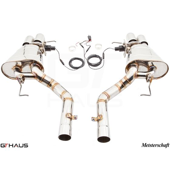 GTHAUS GTC Exhaust (EV Control)- Titanium- BM11326