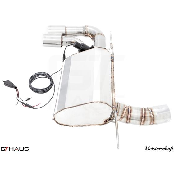 GTHAUS GTC Exhaust (EV Control)- Stainless- BM06-3