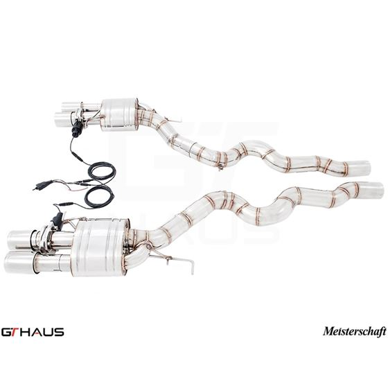 GTHAUS GTC Exhaust (EV Control)- Stainless- BM12-3