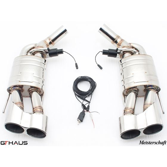 GTHAUS GTC Exhaust (EV Control)- Stainless- ME10-3