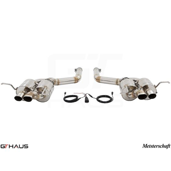 GTHAUS GTC Exhaust (EV Control)- Stainless- BE02-3
