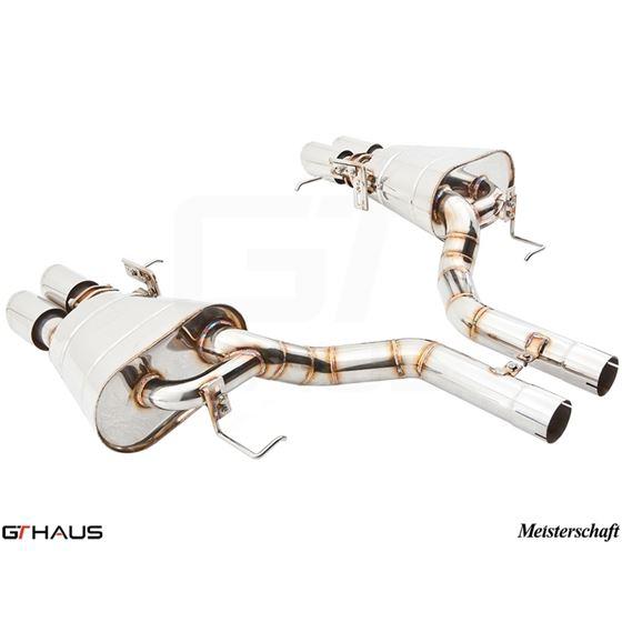 GTHAUS GTS Exhaust (Ultimate Performance)- Titaniu
